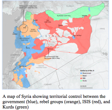 Russia: Adding to the Complex Entanglement of the Syrian Conflict