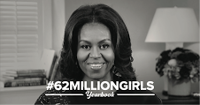 Michelle Obama Starts a New Campaign with #62milliongirls