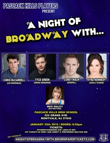 A Night of Broadway With…