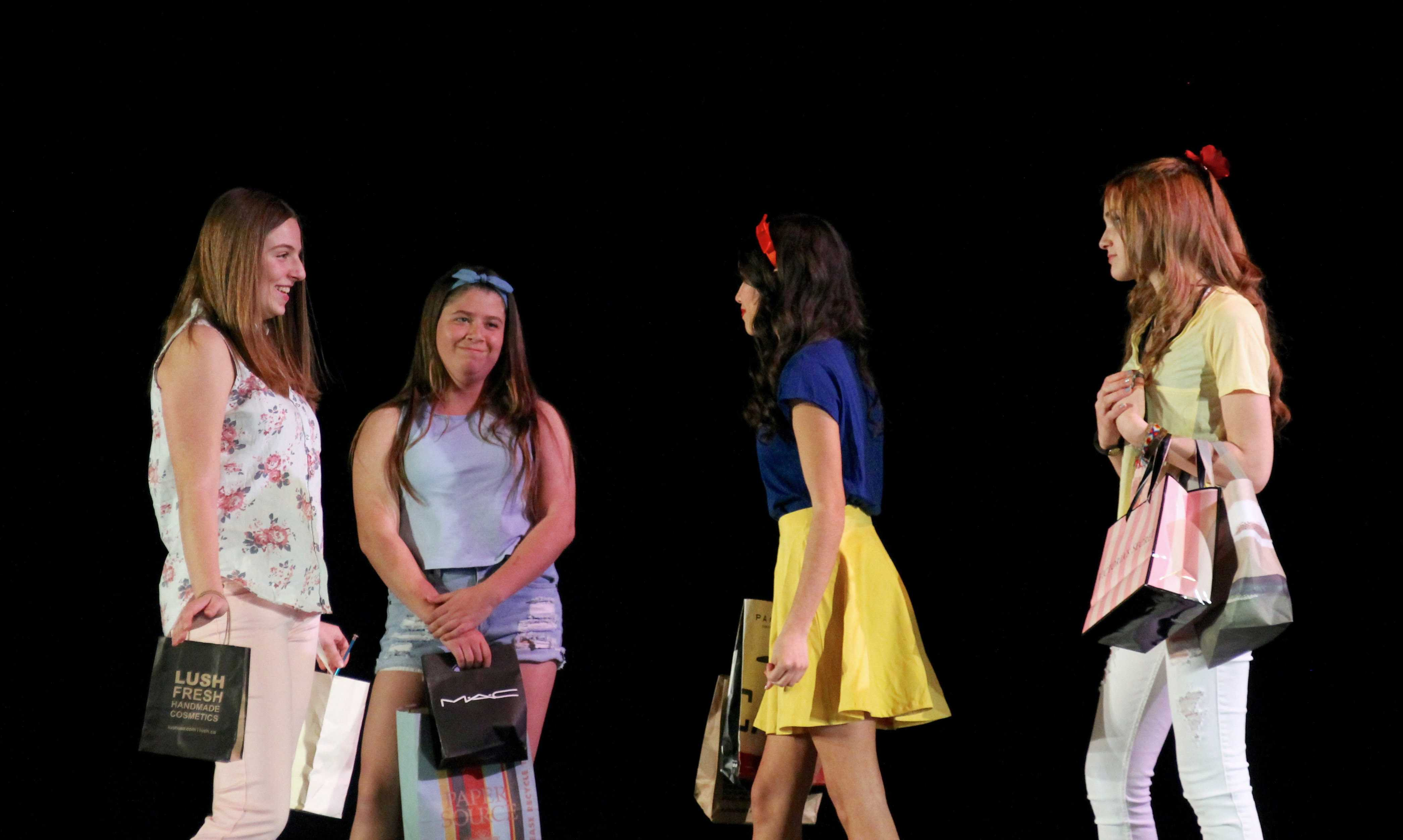 Sara Bressler, Sarah Winston, Grace Liriano, and Vanessa Sheinbaum