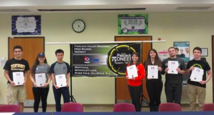 Robotics team hosts Letter of Intent signing event