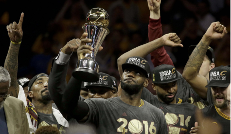 LeBron Delivers a Championship to Cleveland