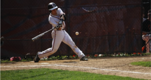 Catcher Jake Chiavelli has been a 4-year varsity starter and is now playing in his 2nd state sectional final, hoping to bring a talented young team a title. Photo Courtesy of Ryan Saks