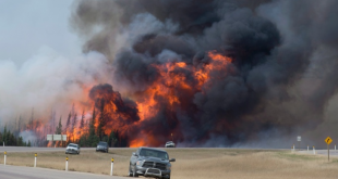 Fort McMurray Wildfire. Photo by CBC News
