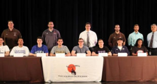 Several Hills athletes that are all-league players are continuing their athletic careers in college. Picture credit: Glenn DeMarrais