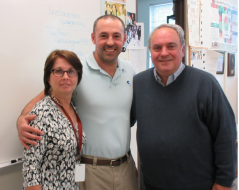 Caffe Anello's John Vitale visits PHHS for Farm-to-Table Week