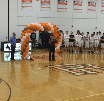 Coach O'Brien Honored In Gym Court Renaming