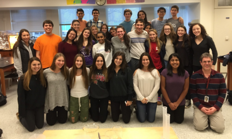 Hills Students' Success at the North Jersey Regional Science Fair