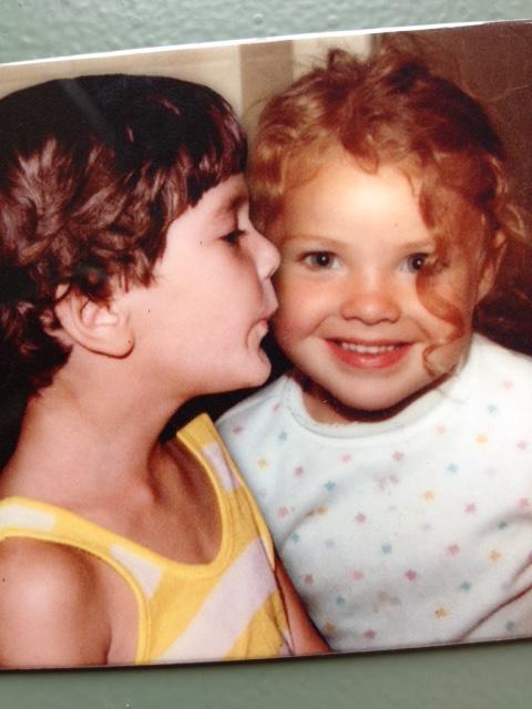 Mr. and Mrs. Goodman as children