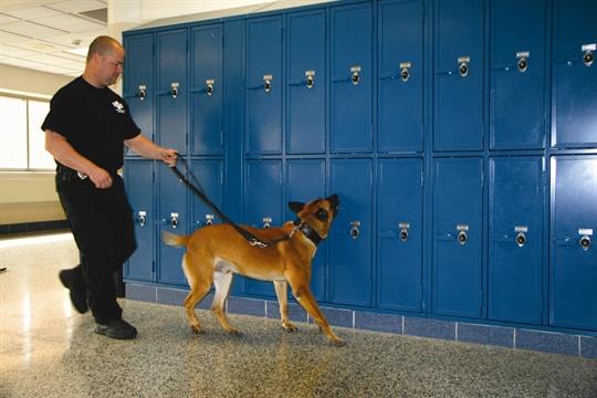Pascack Hills' K-9 Drug Sweep