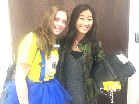 Minion and Army Girl