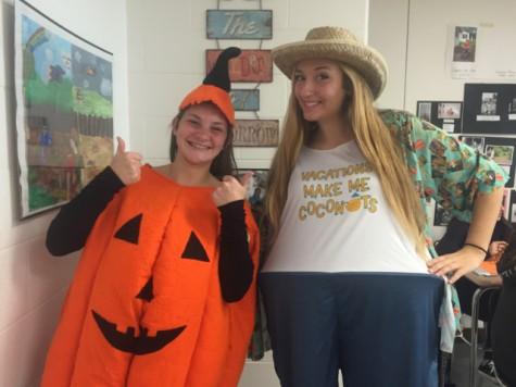Pumpkin and Tourist