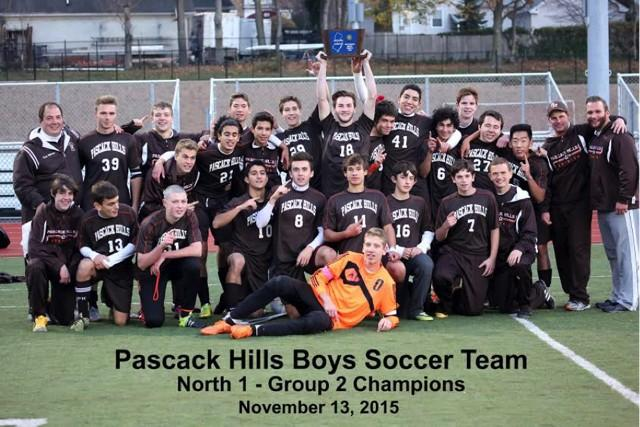 Pascack+Hills+Boys+Soccer+celebrates+first+ever+North+1+Group+2+Sectional+Championship