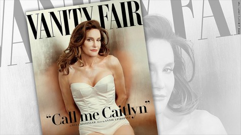 Caitlyn Jenner appears on the cover of Vanity Fair. Photo from CNN