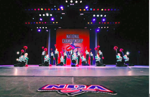 The PVRDT finishes their routine for Nationals.