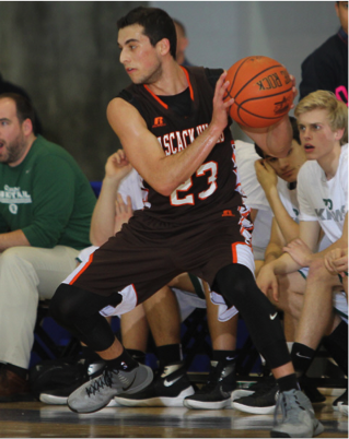Evan Schumer had 16 points in the Quarterfinal victory versus Ramapo. (Photo from northjerseysports.com)