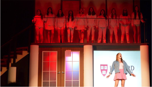 Grace Johnson as Elle Woods in Legally Blonde