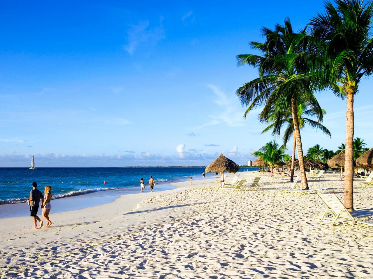 Eagle Beach, Aruba  Holger Leue/ Lonely Planet Images/ Getty Images
