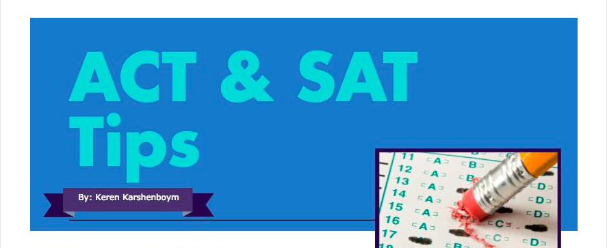ACT & SAT Tips