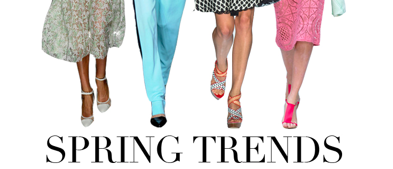 The Remedy for Spring Fever: New Fashion Trends