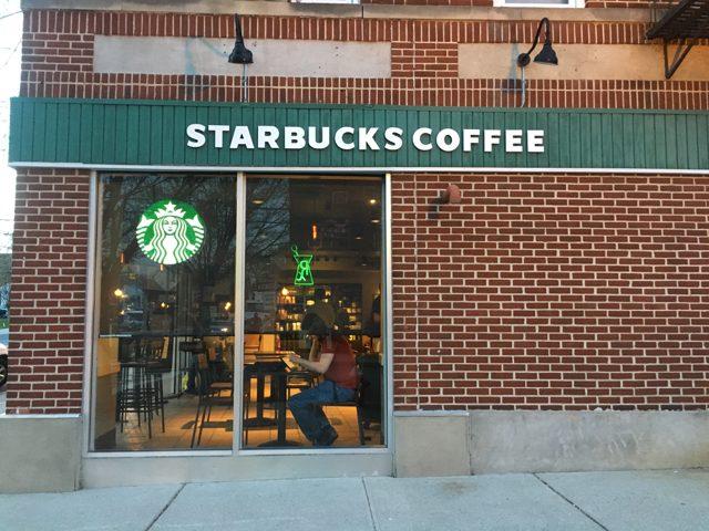 Starbucks in Hillsdale, NJ. Photo by Olivia Lein