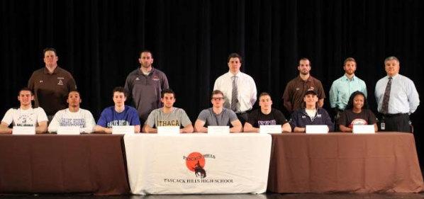 Pascack Hills' all-league and all-county athletes for 2015-2016