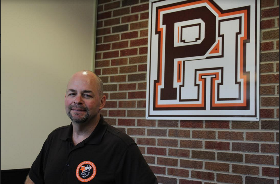 Pictured: Matt Miller, a PHHS Security officer. Photo by  Sophie Miller