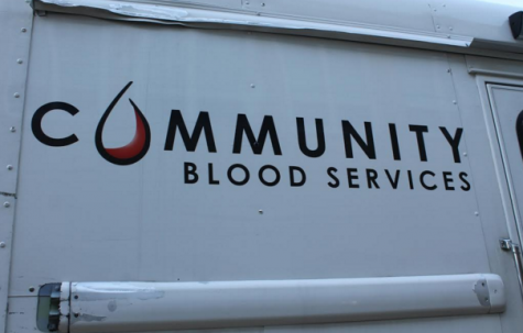 Bloodmobile visiting Pascack Hills for Biannual Student Blood Donation