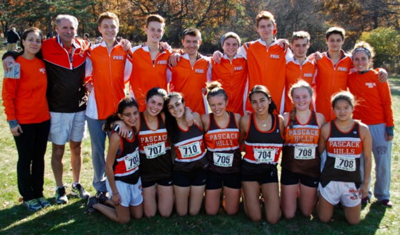 Photo Credits: Jillian Michaels. The varsity girls and boys cross country team from the state sectional meet on Nov.5 at Garret Mountain in Woodland Park.