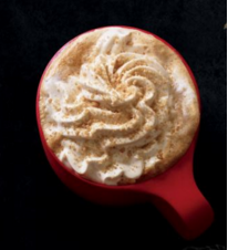 Starbucks' Chestnut Praline Latte. Image Credit: Starbucks