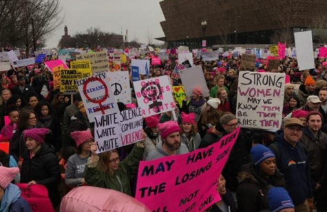 """""""This Is What Democracy Looks Like"""": Teachers Attend The Women's March"""