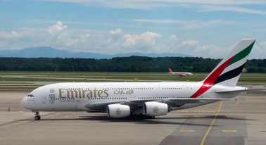 One of the flights affected by the electronic ban is the Emirates flights to Dubai. Photo by Tanweer Morshed.