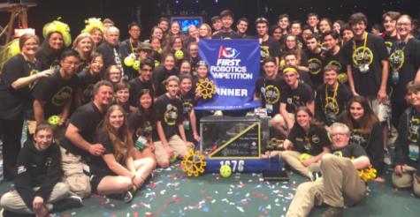 Robotics team wins FIRST Championship
