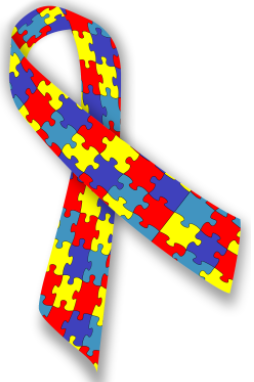 Autism Society logo. Photo by Wikimedia Commons.