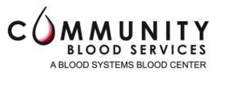 Community Blood Services Logo. Photo by the Community Blood Services' website.