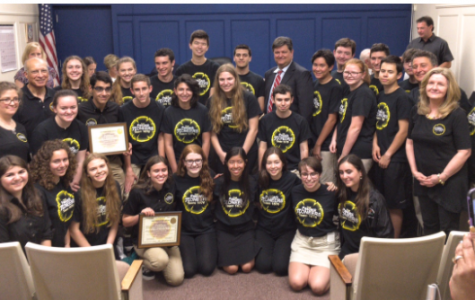 Woodcliff Lake Mayor and Council Honors Robotics Team
