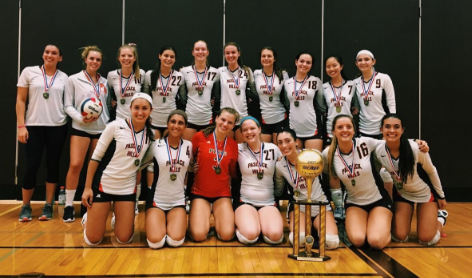 Hills Volleyball Wins Tournament