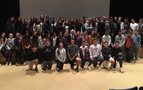 Witness of Kristallnacht Speaks to Literature of the Holocaust Students