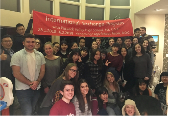Taiwanese exchange students are 'on board' at Pascack Hills