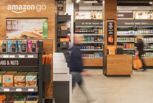 Amazon's Futuristic Grocery Store Opens to the Public with No Lines or Cashiers