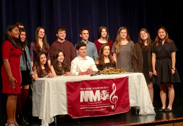 Top left to right: Serin Matthews, Grace Liriano, Brett Berger, Julia Schwartz, Grady Johnson, John Giardina, Jessica Strassberg, Rebecca Herman, Sarah Winston, Amber Leung,  Bottom left to right: Gianna Lucido, Eliza Romeu, Harrison Blume, Francesca Ferraro  Not pictured: Zainah Alizade