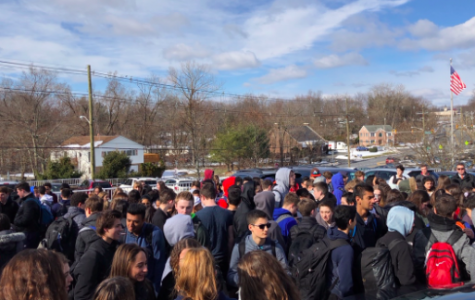 The National Walkout at Pascack Hills High School