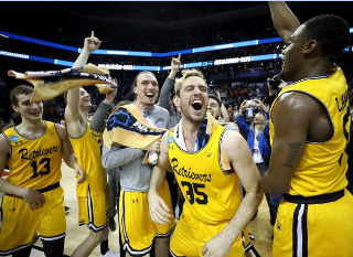 UMBC is the first 16 seed to beat a One Seed. Photo by nj.com.