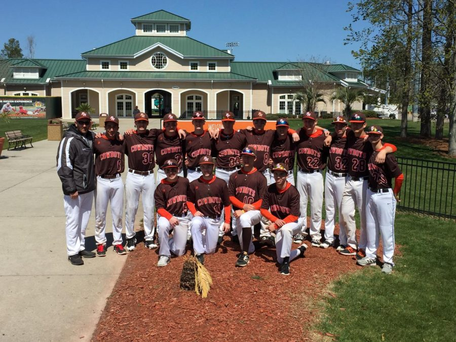 Hills Baseball Goes Undefeated in South Carolina Spring Training
