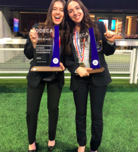 PHHS Students Win 1st Place at DECA ICDC