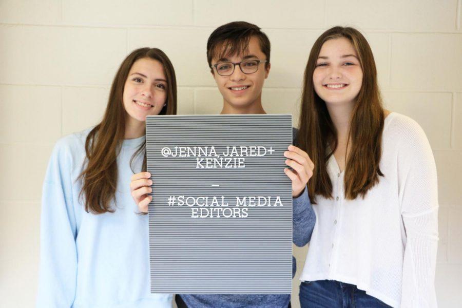Jenna Golub, Jared Mitovich, and Mackenzie Blowers