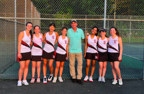 Hills Girls Tennis Knocks off County Champions and Number One Seed Ramsey in State Tournament