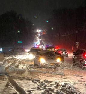 A photo of the busy Summit Ave in Montvale Photo by Eileen Brannigan Lonergan