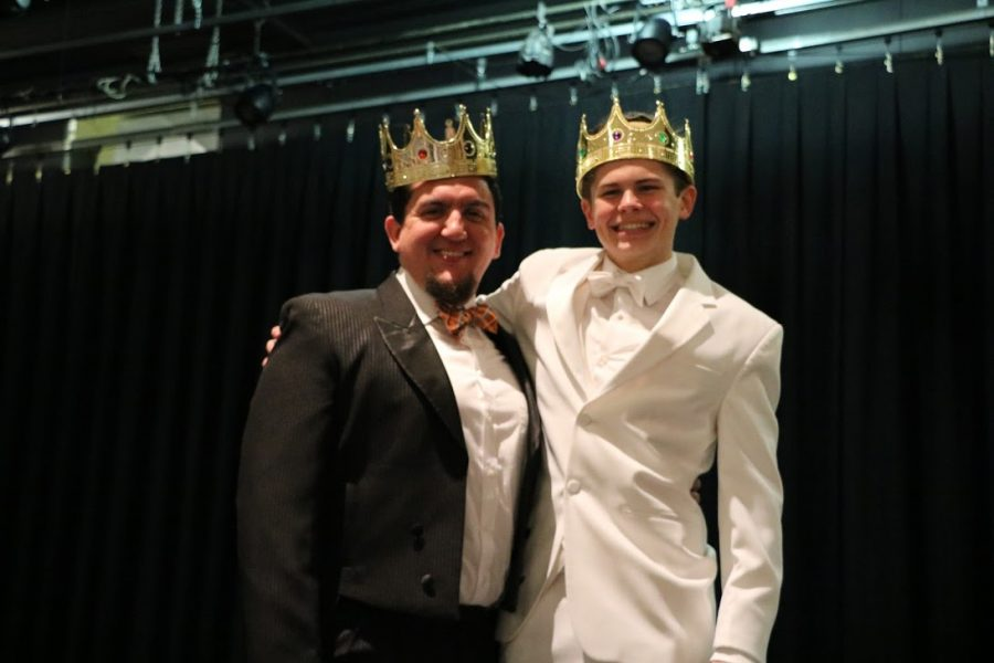 Winners of Mr. Pascack Hills Mr. Dore and Frank Scott