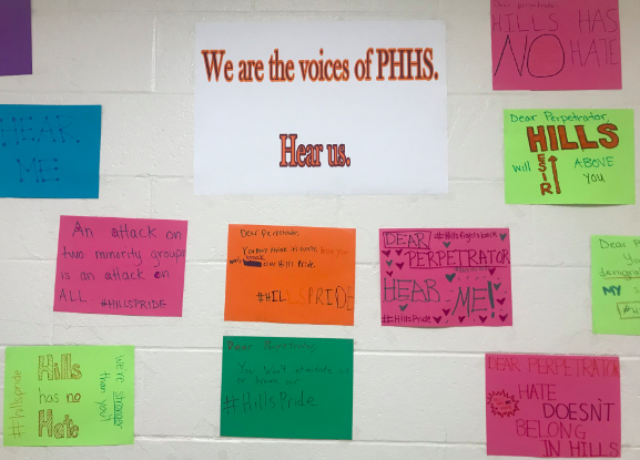 Posters made by Mrs. Sachs' English class.
